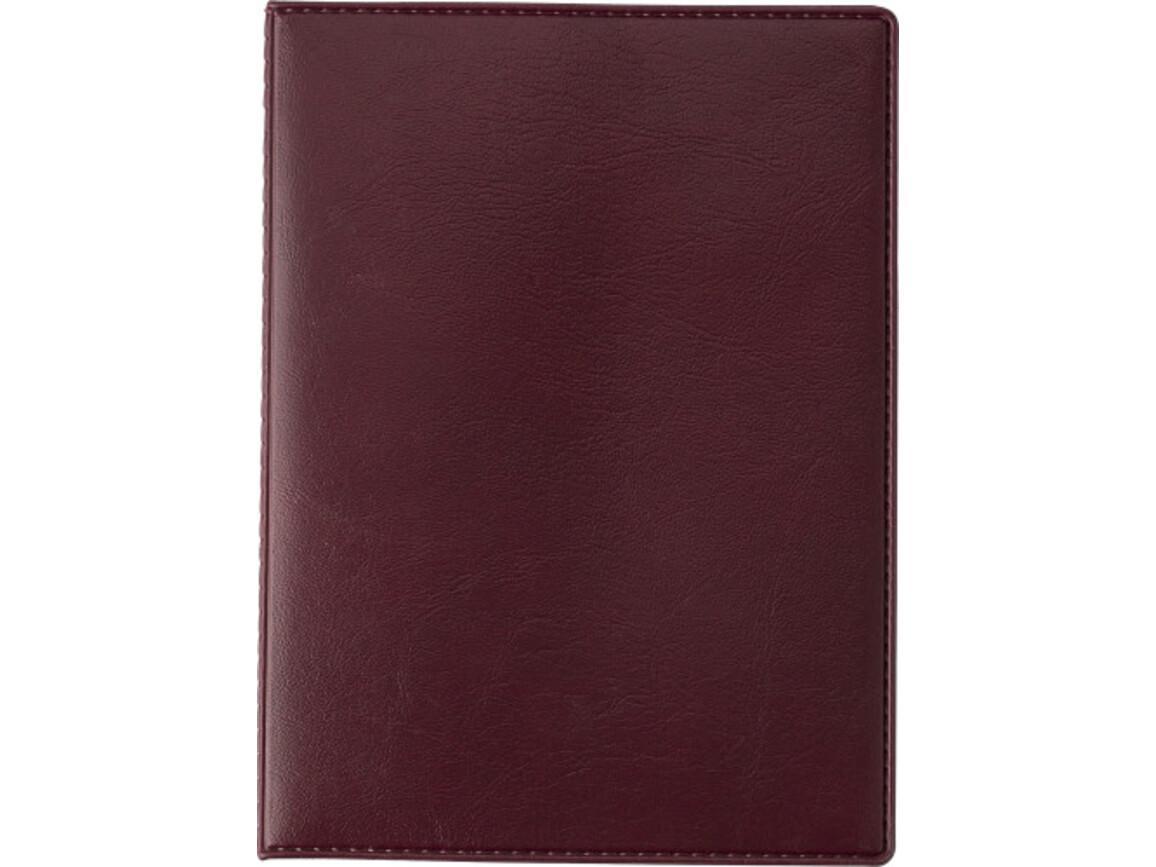 Car document folder – Bordeauxrot bedrucken, Art.-Nr. 010999999_13960