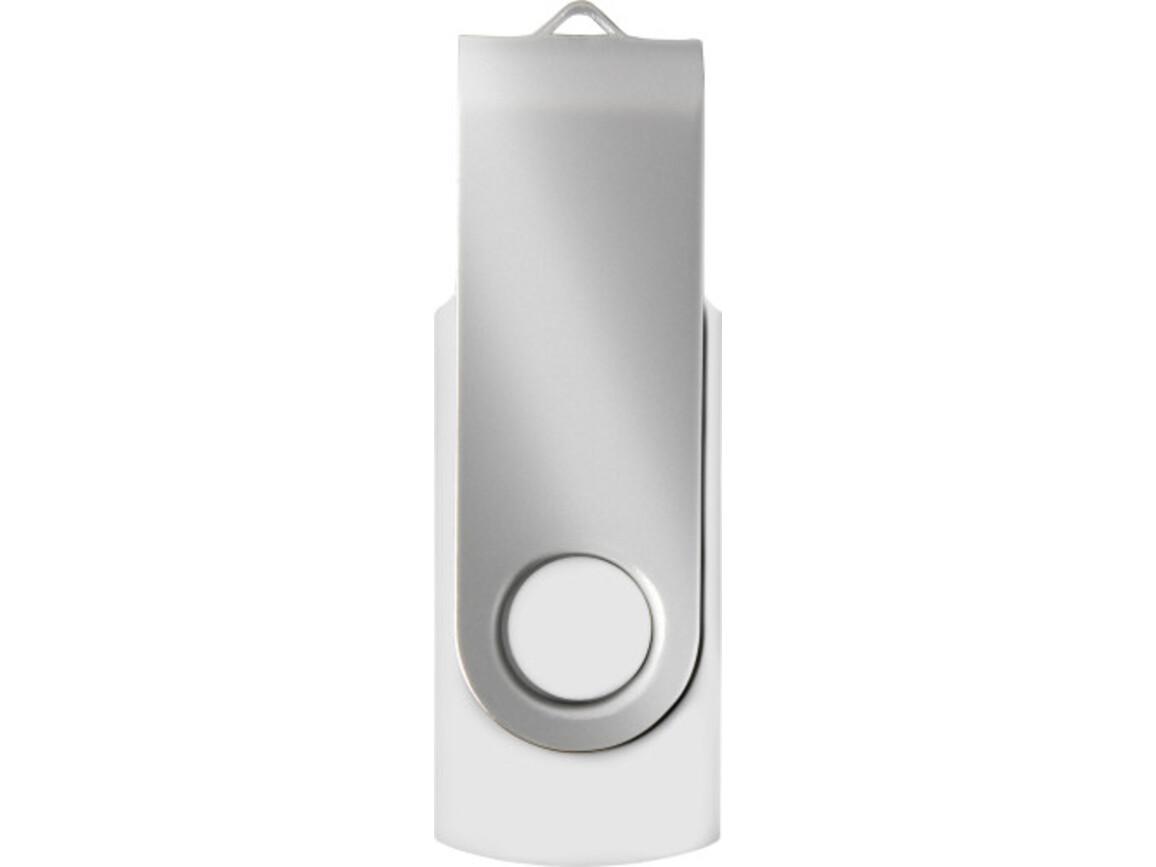 USB-Stick 'Save' (16GB/32GB) – weiß/silber bedrucken, Art.-Nr. 505999040_3486