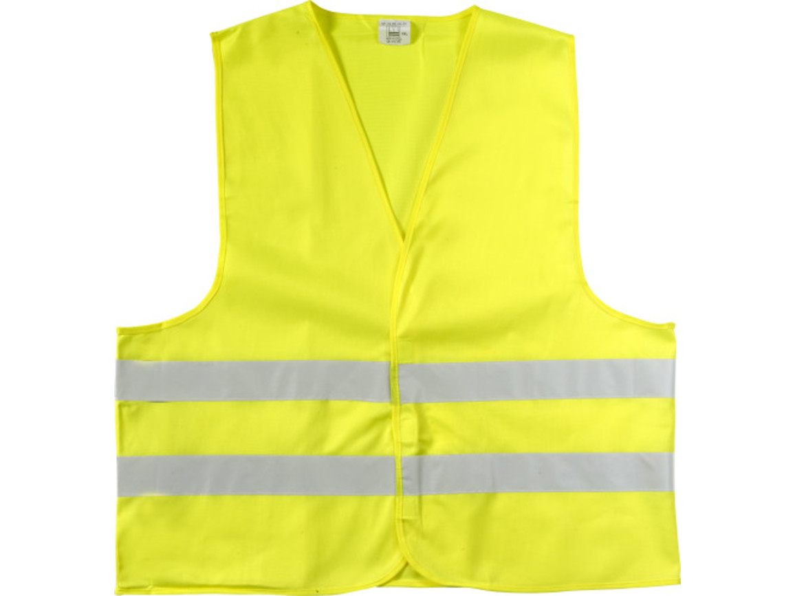 Warnweste 'Safe Travel' – Gelb bedrucken, Art.-Nr. 006052999_6541