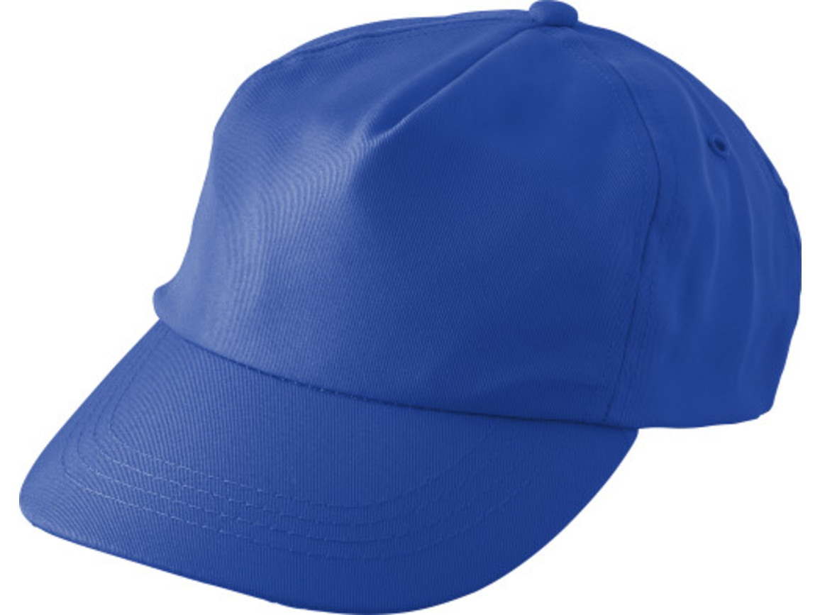 "Schirmmütze aus RPET ""Maverick"" – Kobaltblau bedrucken, Art.-Nr. 023999999_9343"