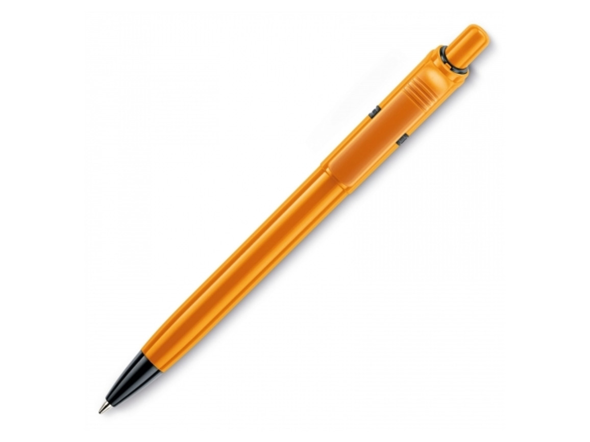 Kugelschreiber Ducal Extra hardcolour - Orange bedrucken, Art.-Nr. LT80908-N0026