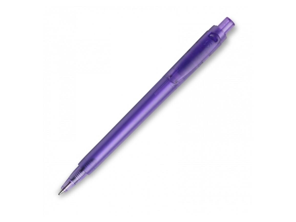 Kugelschreiber Baron '03 Happy Frosty - Transparent Violett bedrucken, Art.-Nr. LT80903-N0472